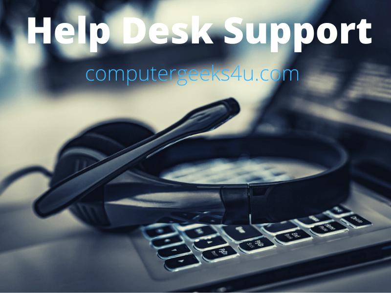 Computer Geeks 4 U - Help Desk Support