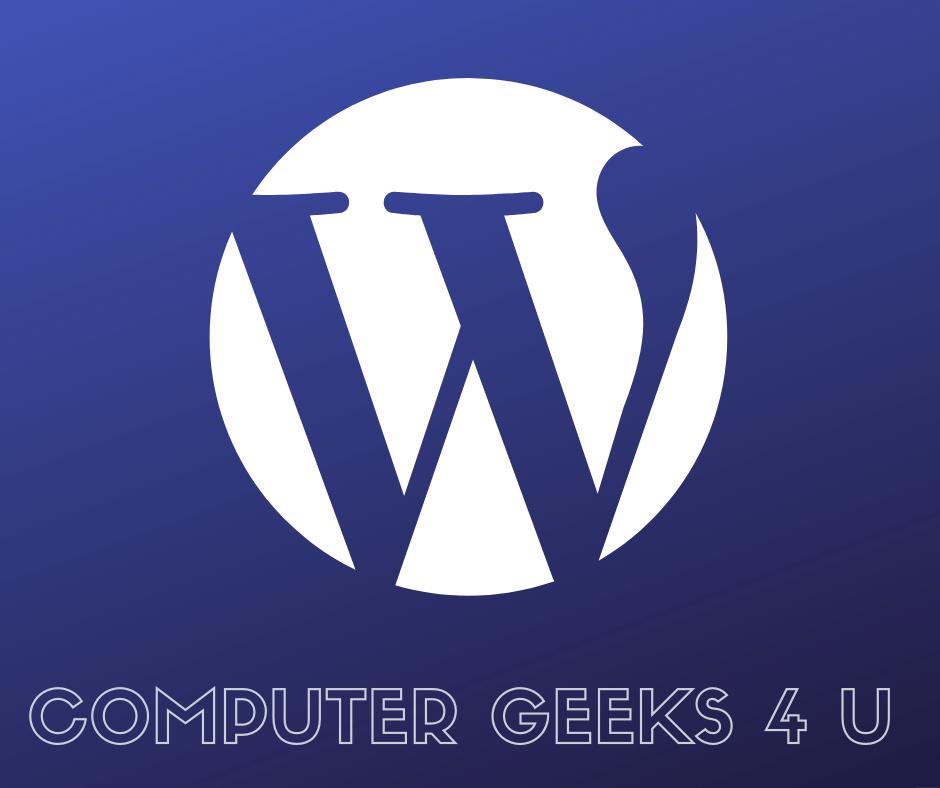 Computer Geeks 4 U - Website Design