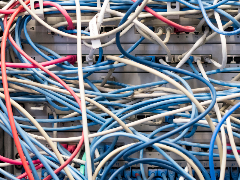 Data Wiring Cleanup Services - Organize, Label, Maintain Existing Network Cabling | Servicing Blount, Madison and Marshall Counties